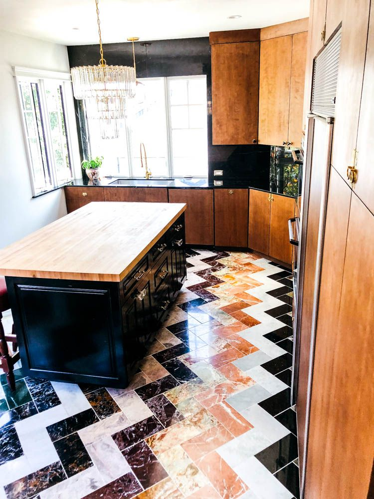 Dream Eclectic/ Midcentury Modern Kitchen Remodel-Before ...