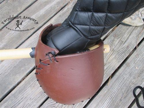 leather singlestick hilt with rattan stick hema pinterest