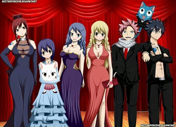 Fairy Tail crew | Geektopia | Fairy tail, Fairy tail gray