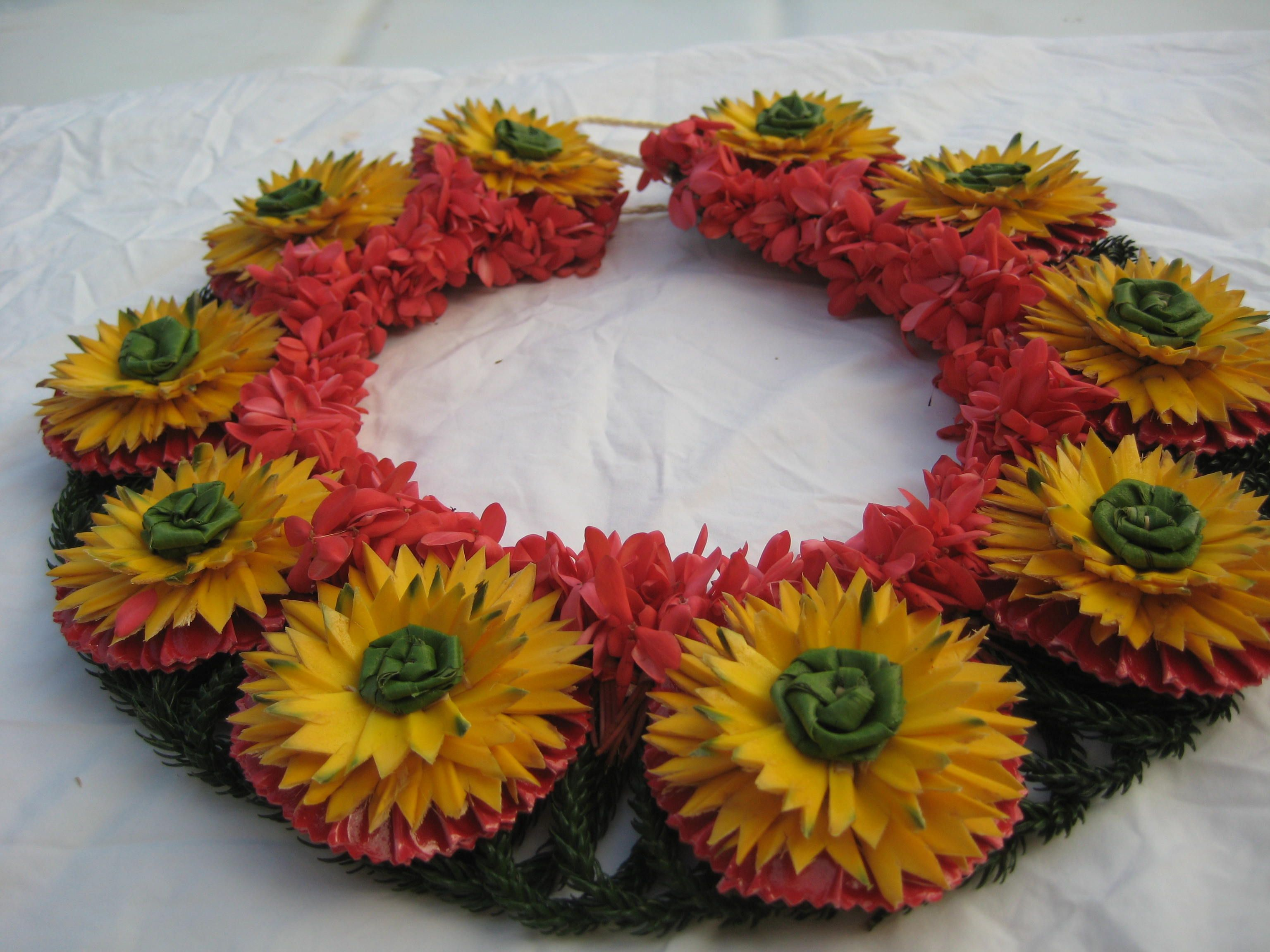 34 best poly leis images on pinterest floral wreath garlands and kahoa island craftsleishula skirtdiy flowerstongagraduationgarlandsorigami hawaii izmirmasajfo