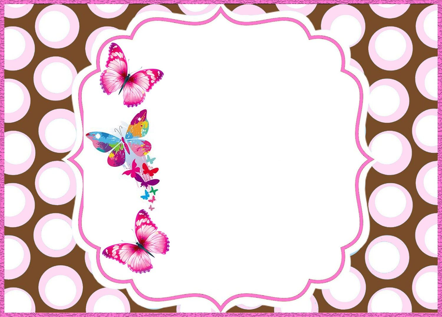 online butterfly invitation template
