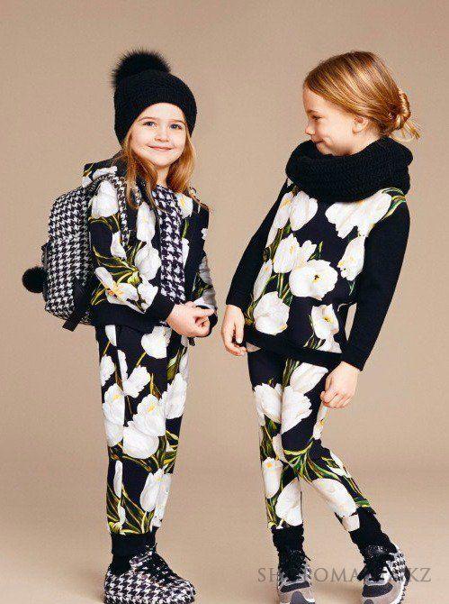 Детская мода осень-зима 2016-2017, мода для девочек ...