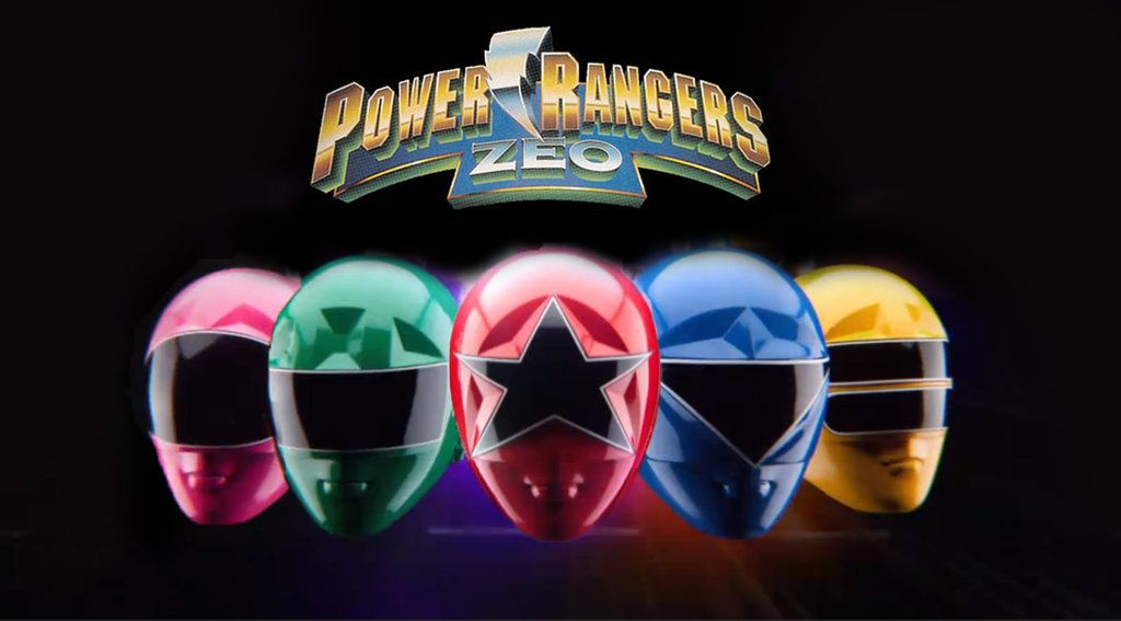 Here To Power Rangers Zeo Wallpaper That I Edited From Screenshot Of Super Megaforce Opening Theme