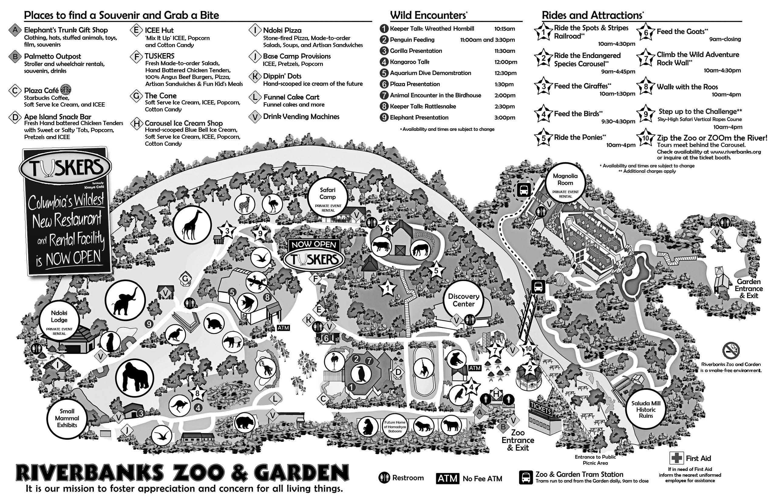 picture regarding Printable Riverbanks Zoo Coupons named Riverbanks Zoo, Columbia, SC Most loved Spots Riverbank