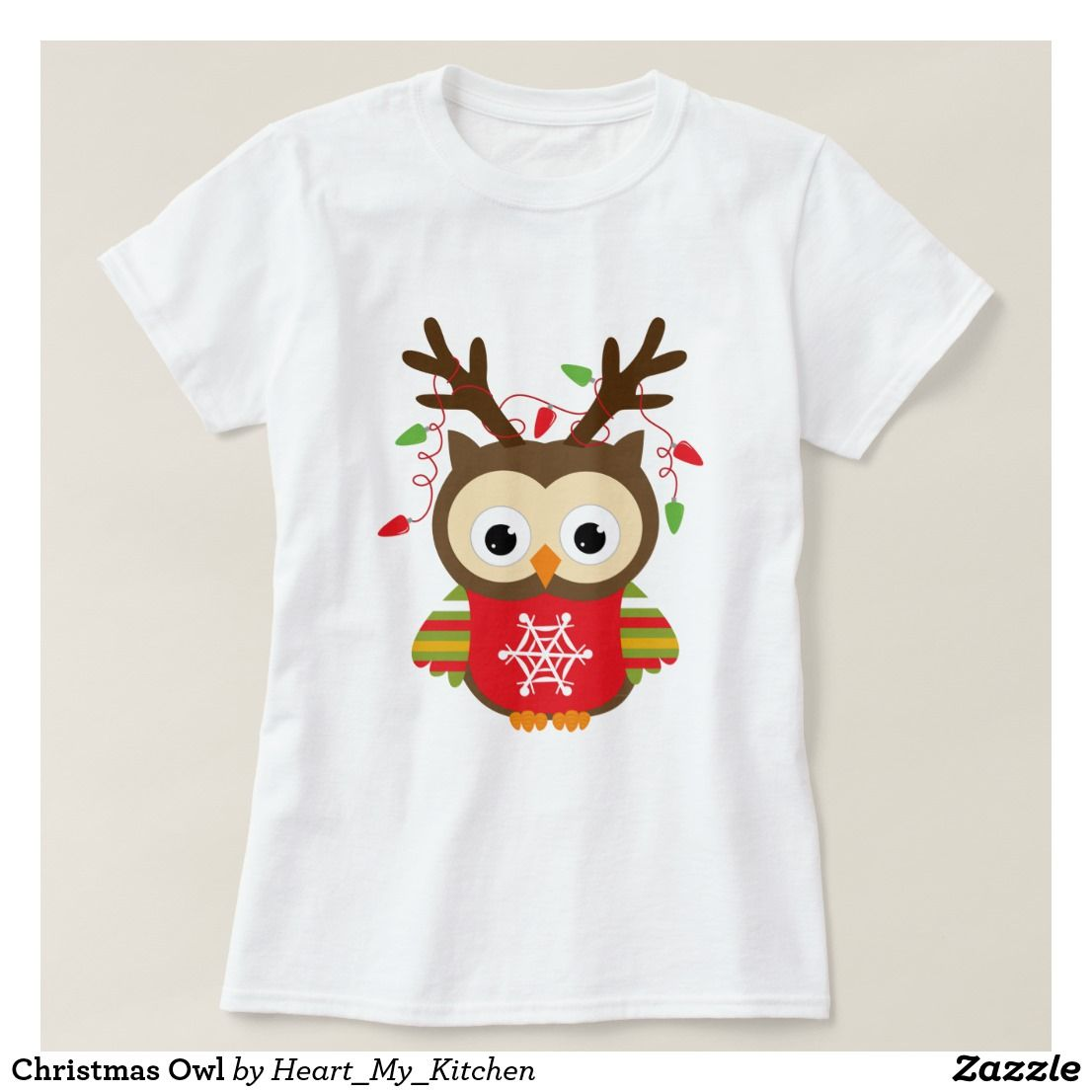 Christmas Owl T-Shirt | Christmas T Shirts | Pinterest | Shirts ...