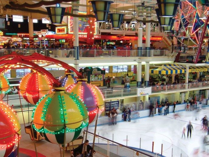 Les Galeries De La Capitale Indoor Amusement Parks Quebec City Amusement Park