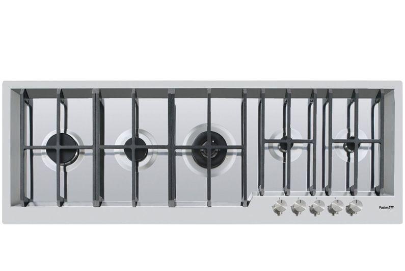 Piani cottura a gas ed elettrico - GK.5F.line.SF - 7628 032 - Foster ...