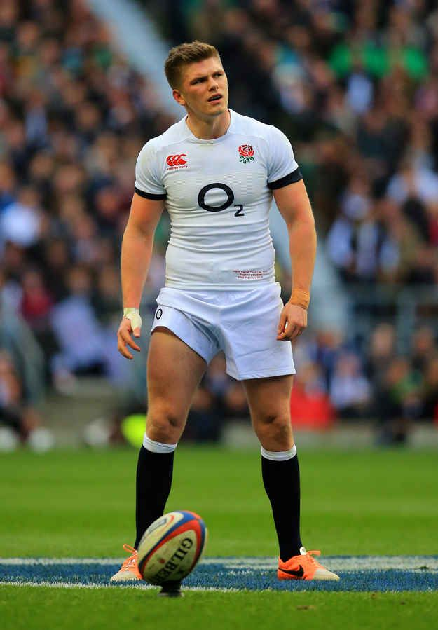 Owen Farrell Of England Rugby Boys England Rugby Team Hot Rugby Players