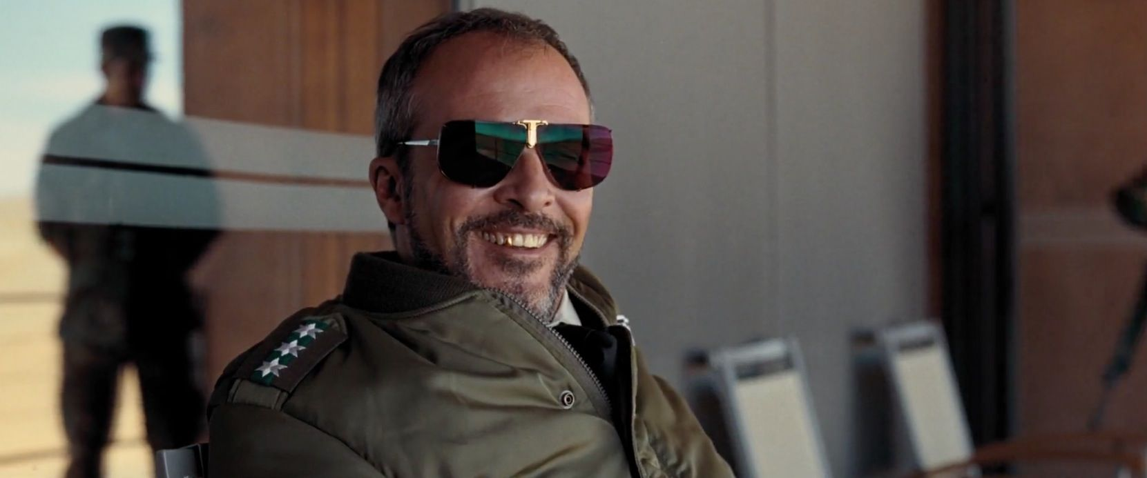 3d5fc88d3df91 Boris Becker by Polaroid 4804C sunglasses worn by Fernando Guillén Cuervo  in QUANTUM OF SOLACE (2008)  polaroid
