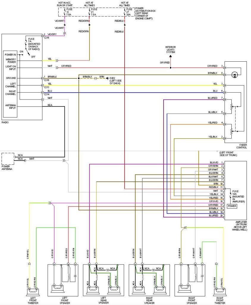 E30 Radio Wiring Diagram E30 Diagram Bmw