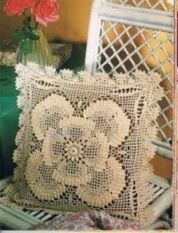 Patrones de cojines a crochet gratis - Imagui | Velez Malaga ...