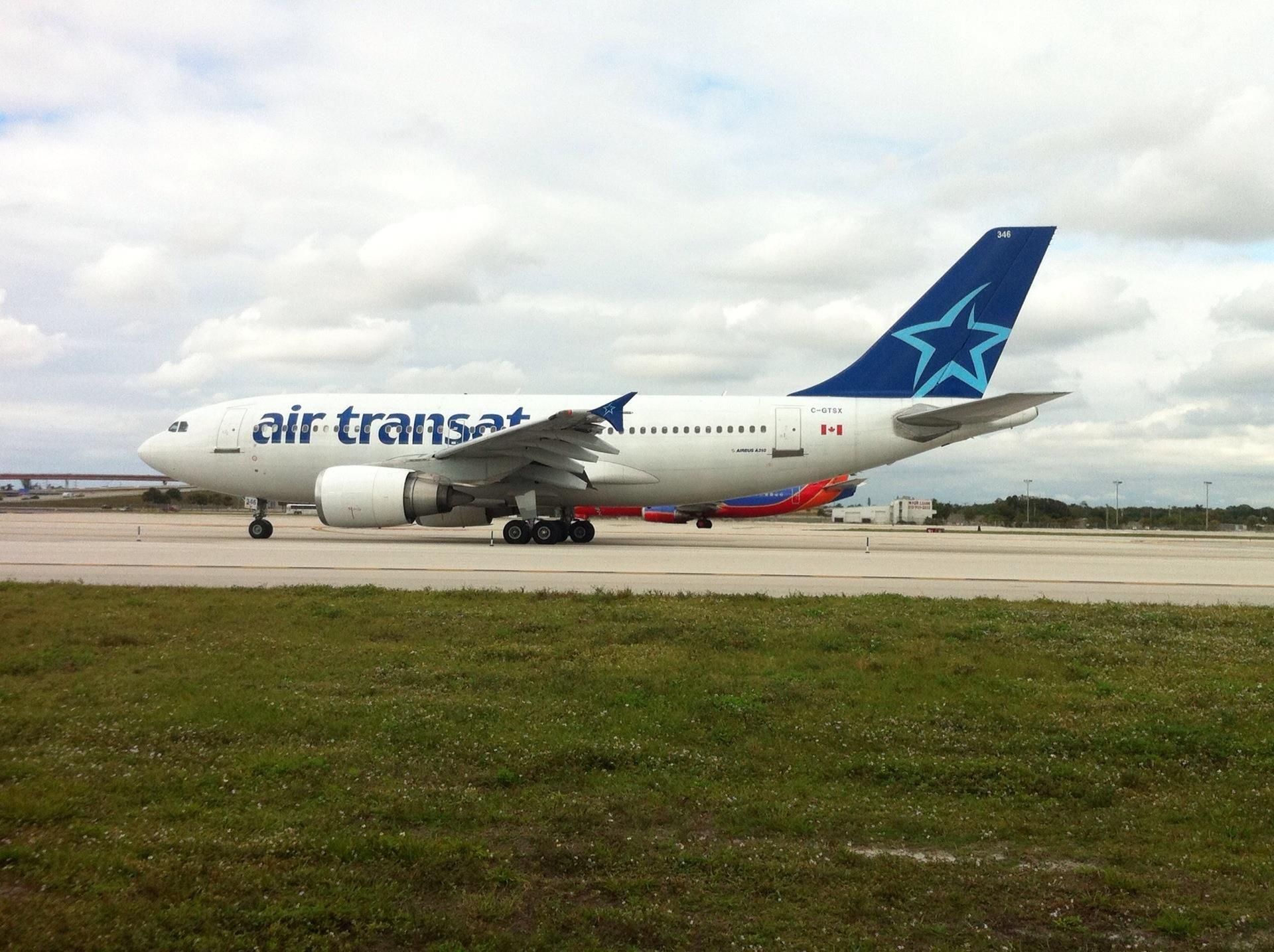 Air Transat Airbus FLL Air transat, Air, Airbus