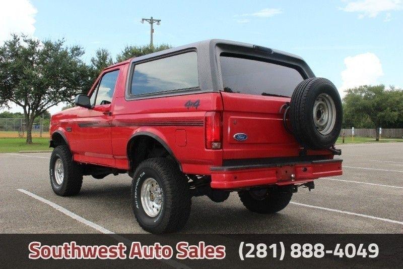 1995 Ford Bronco Eddie Bauer Suv In Houston Tx 1fmeu15h5sla78107 Camionetas