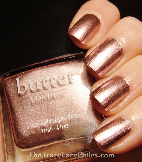 Nail Polish Colors Bronze: Butter London - Fairy Lights