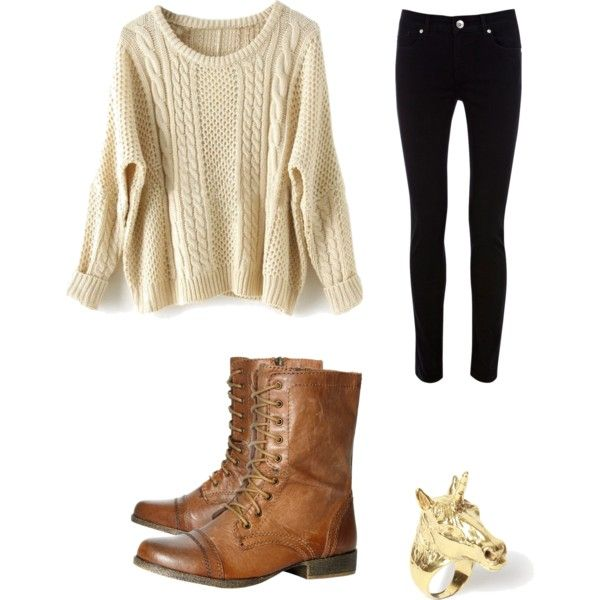 Fall outfit- love these shoes!
