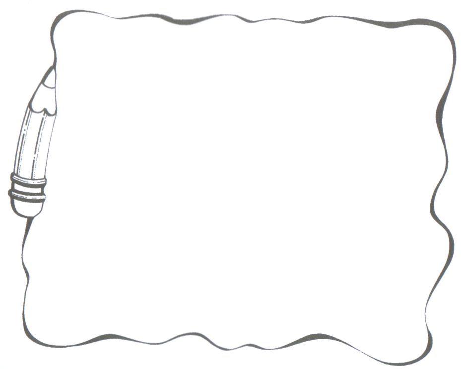 Recursos para el aula: Marcos para carteles escolares o escritos ...