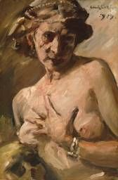 Lovis Corinth 'Magdalen with Pearls' 1919  Tate