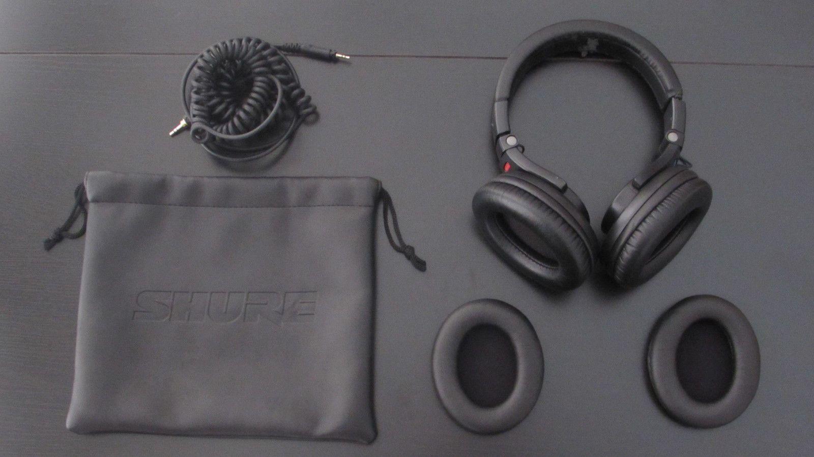 0aa80884701 Shure SRH440 Headband Headphones - Black | Music Is Life ...