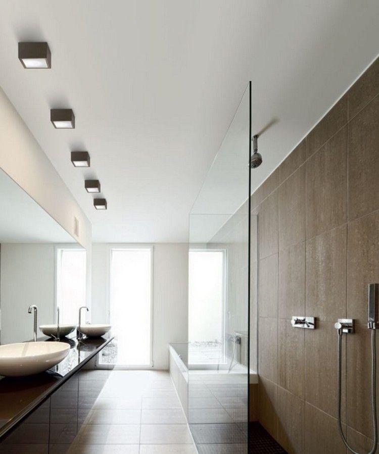 Lamparas de techo para cuartos de baño - 50 ideas | Bath | Lamparas ...
