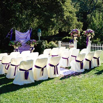 Tips for a Home Wedding | Home wedding, Yard wedding ...