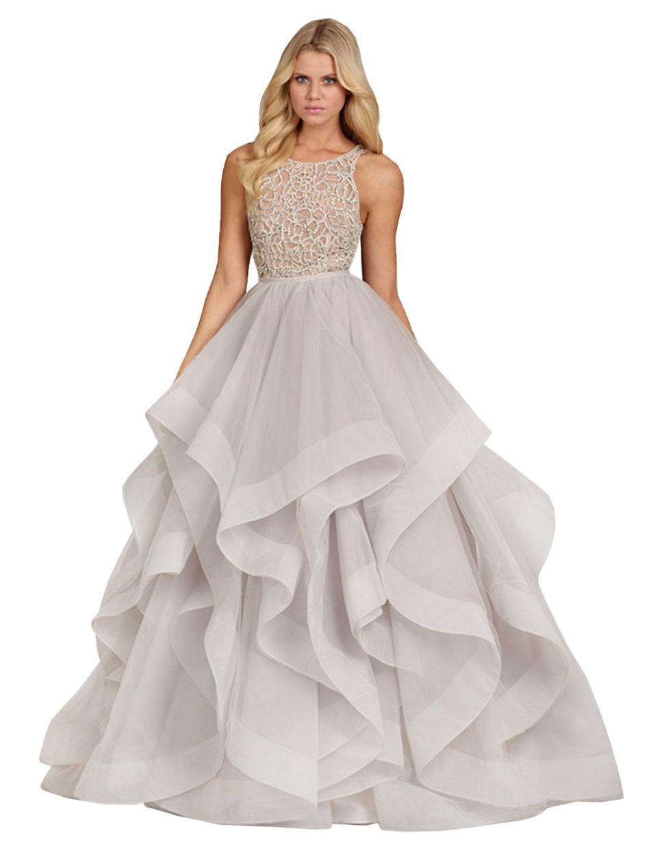 Dori Ball Gown by Hayley nPaige | Hudson\'s Bay. #wedding #dress ...