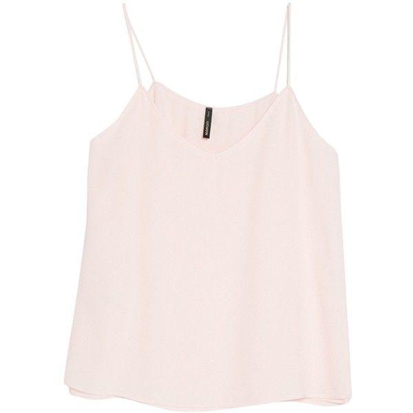 f2b903d7af2 Mango Flowy Strap Top , Light Pastel Pink | Fashion | Tops, Pastel ...