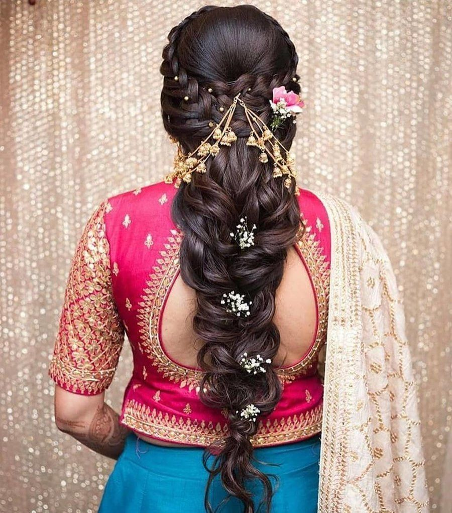 Nice Weddinghairstyles At Hairstyles For Traditional Wedding From Gallery Late Galler Looseb Hair Styles Indian Wedding Hairstyles Bridal Hair Buns