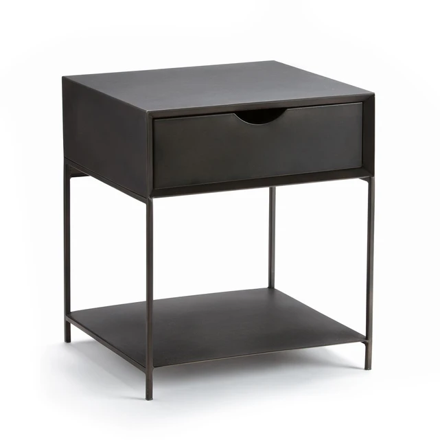 Chevet Metal Mambo Table De Chevet Metal Bout De Canape Table De Chevet