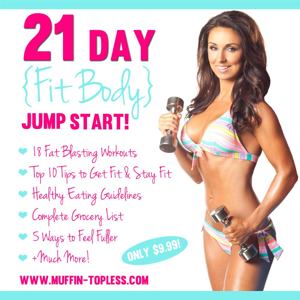 21 Day Fit Body Jump Start Program is only $9.99!