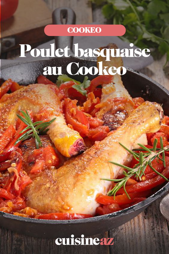 Poulet Basquaise Au Cookeo Recette Poulet Basquaise Facile Recette Idee Recette Cookeo
