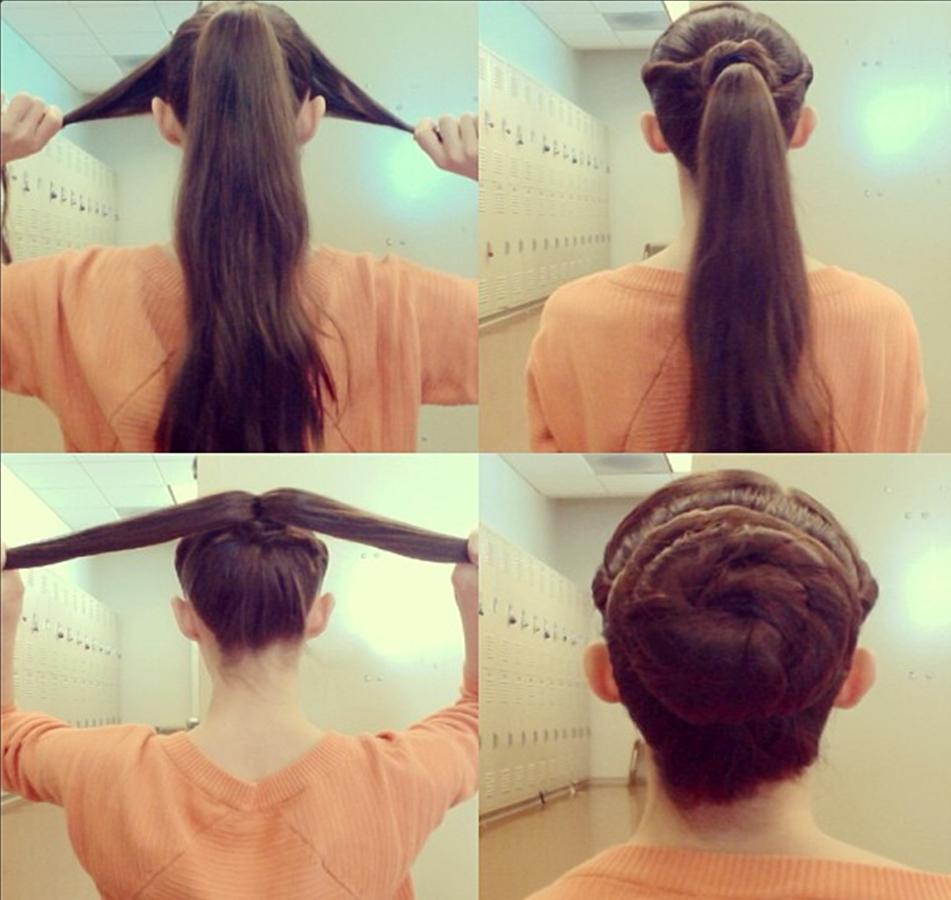 Juliet dohertyus daily class bun hair pinterest fishtail