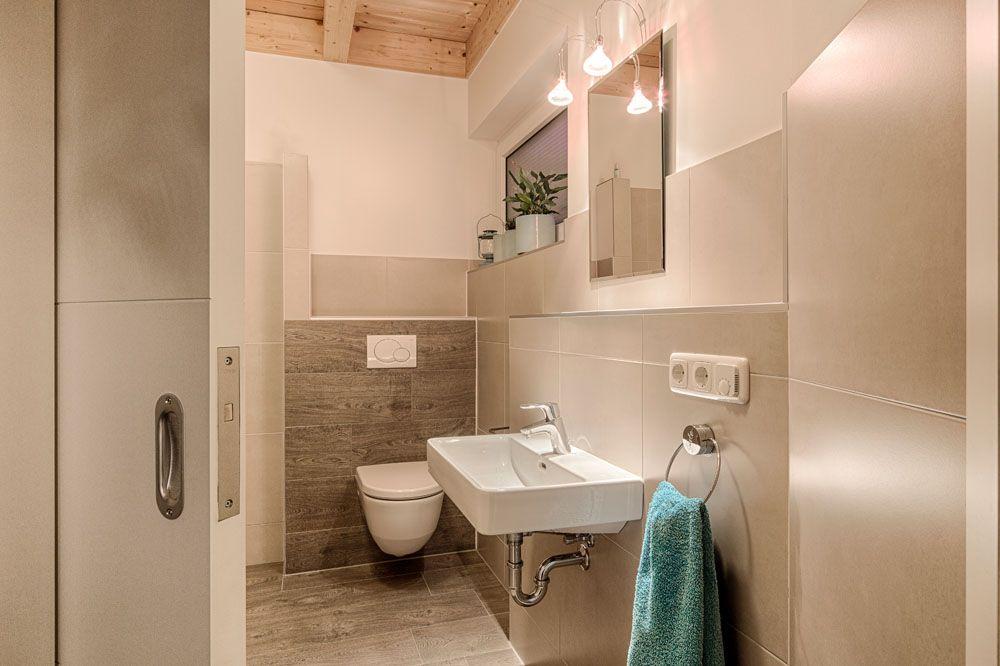 Badezimmer Schiebetür ~ Schickes gäste wc mit schiebetür badezimmer