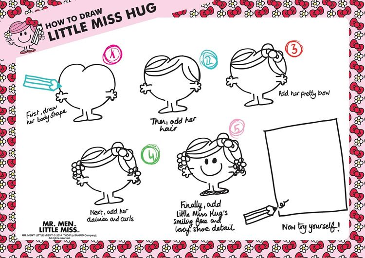 Apprendre a dessiner madame calin activit s imprimer monsieur madame - Dessin de calin ...