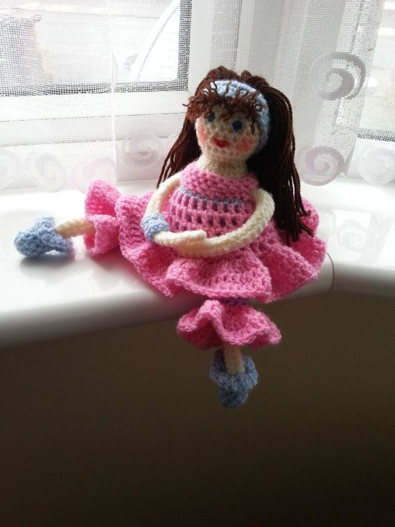 Crochet Doll Exclusive Crochet Doll One of a Kind ♡ by Jazzidolls