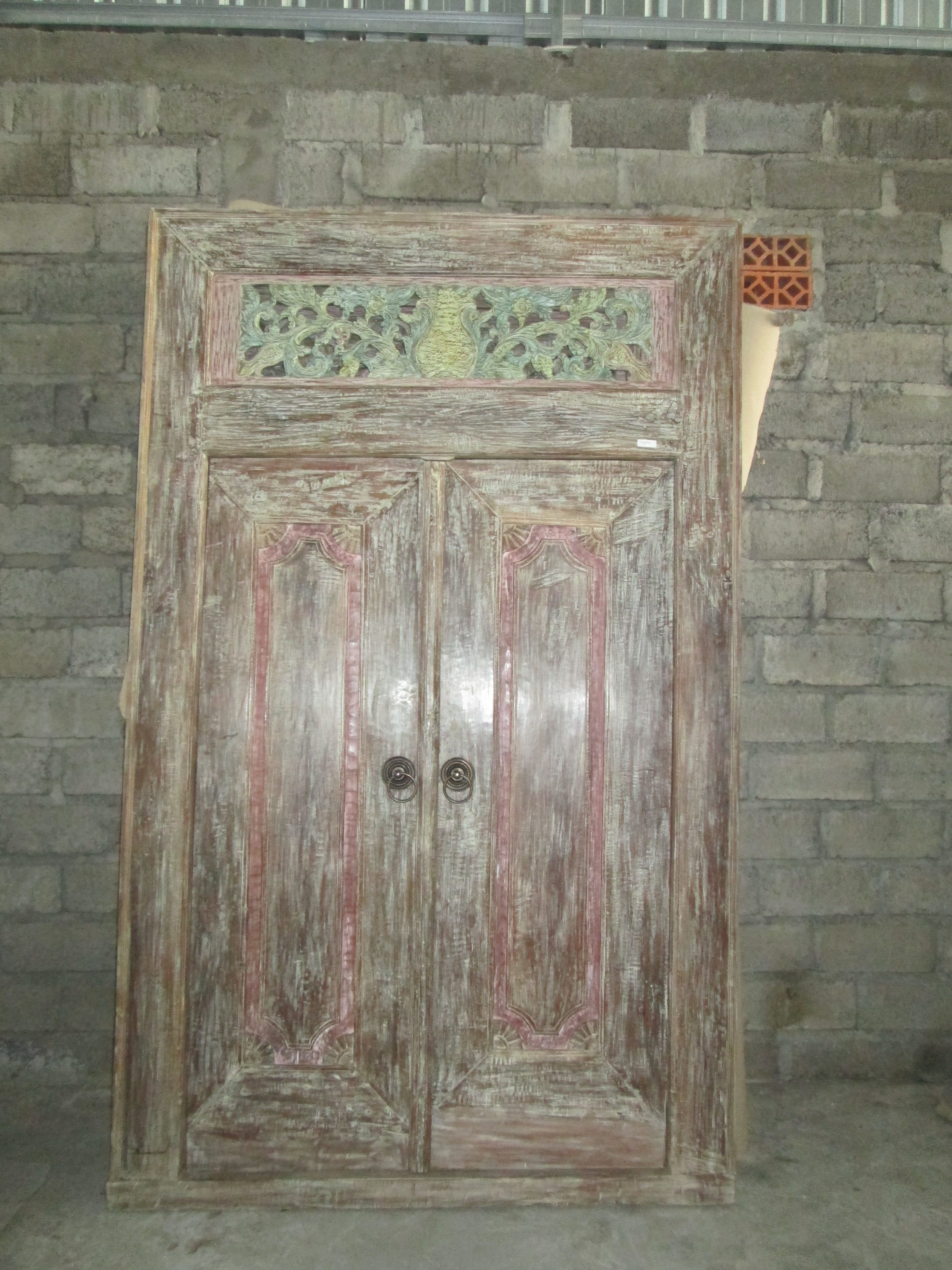 traditional balinese doors inside out decor landscaping product