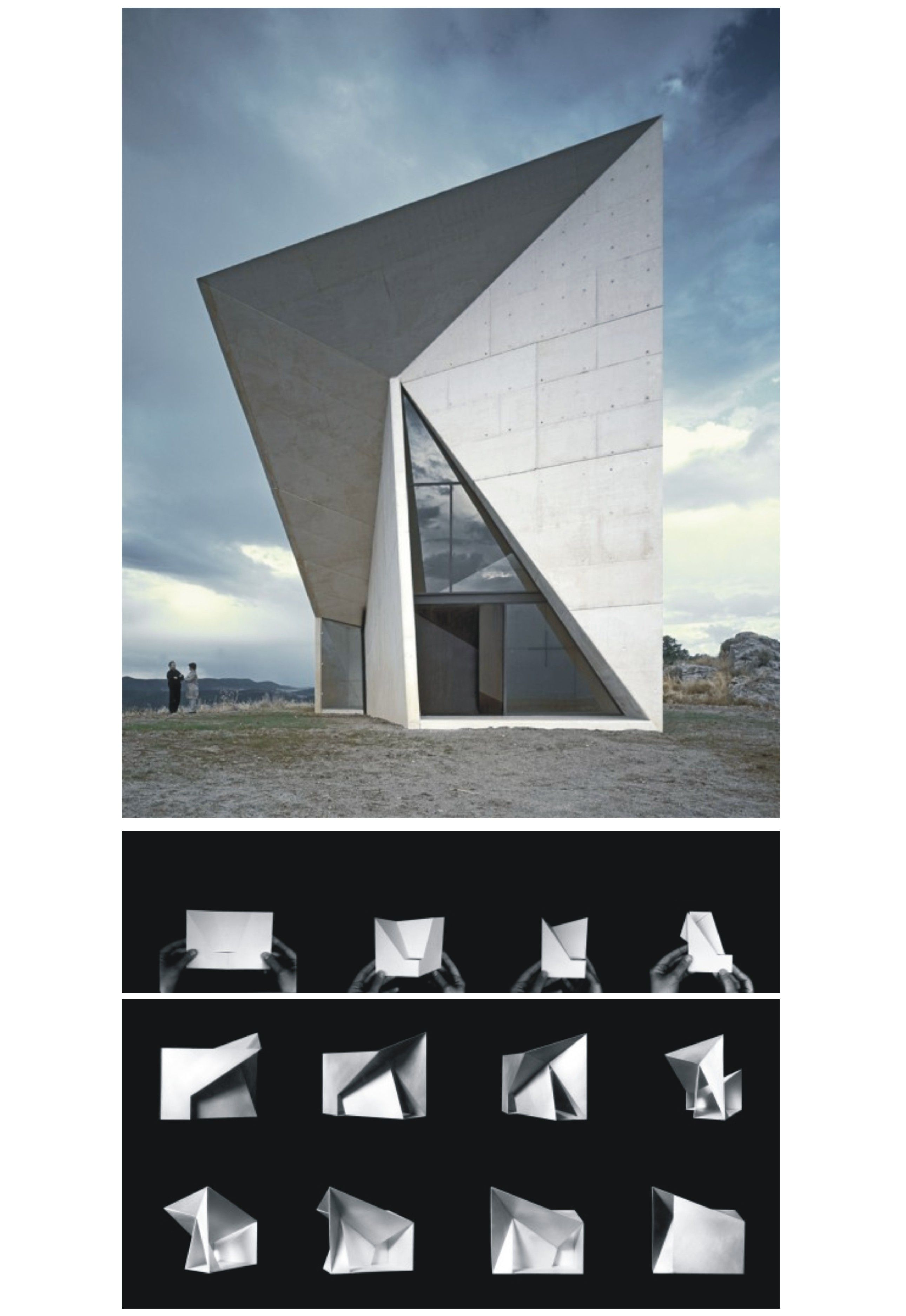 folding architecture folding architecture collage