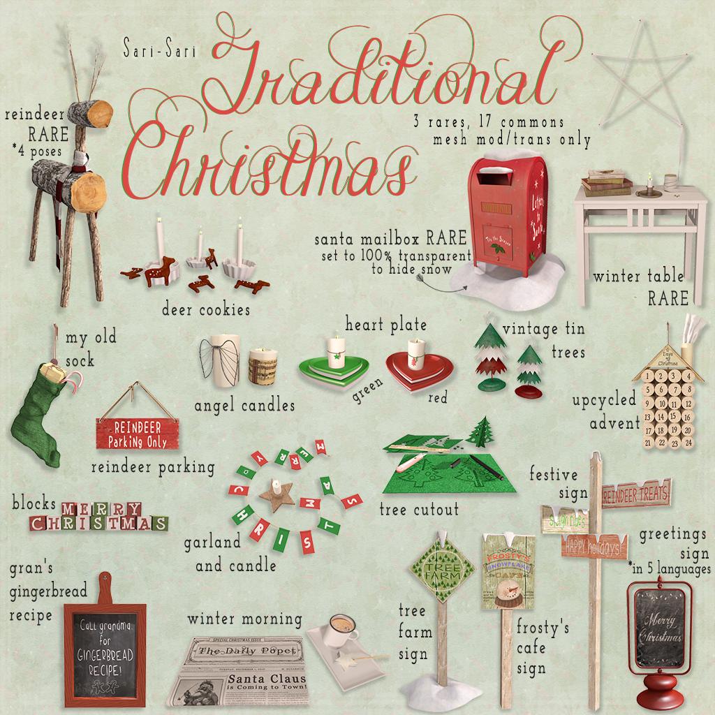 Sari - Sari - Traditional Christmas