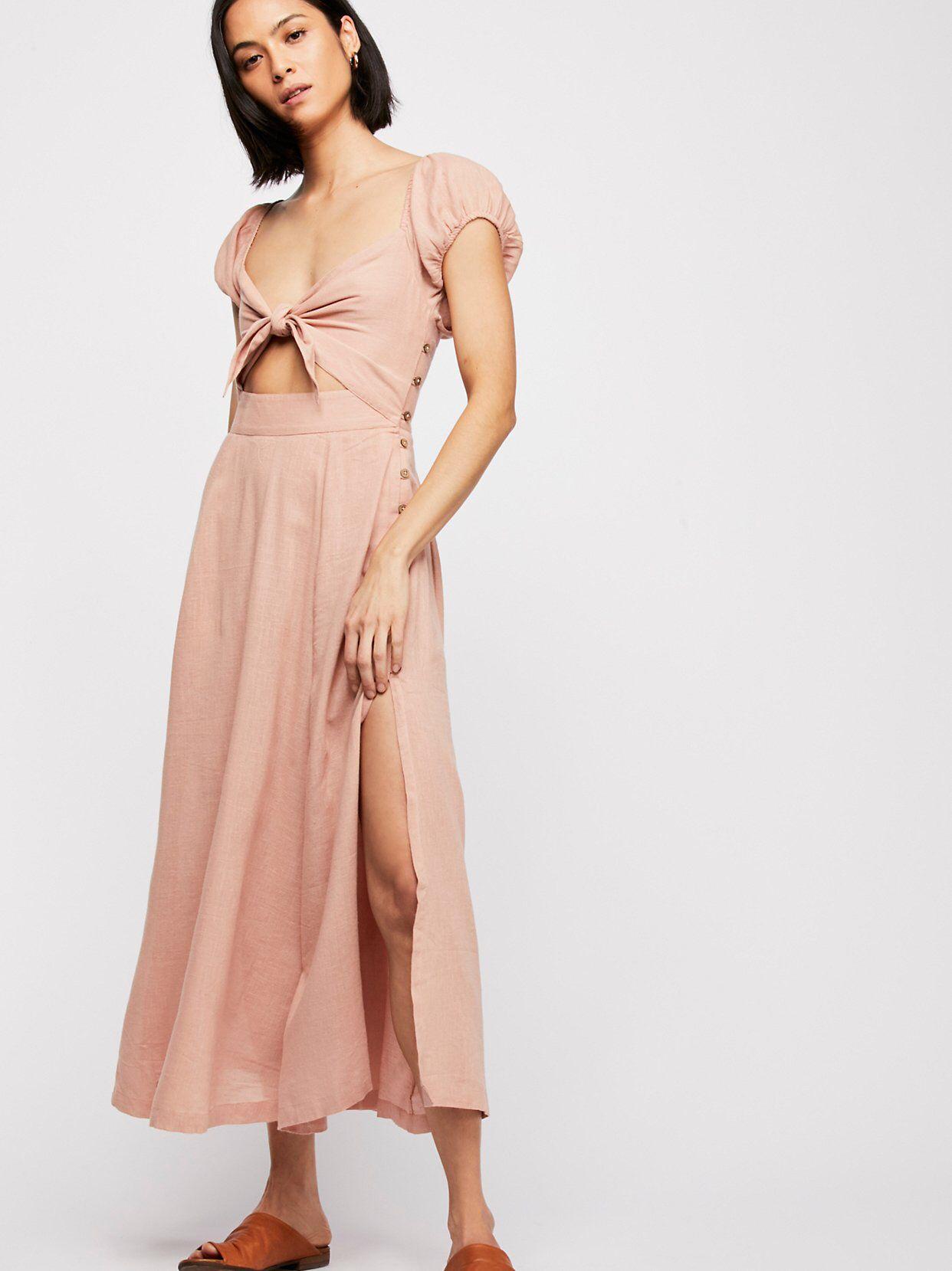 f7340715b5556 The Getaway Midi Dress | Attire | Dresses, Dress outfits, Free people