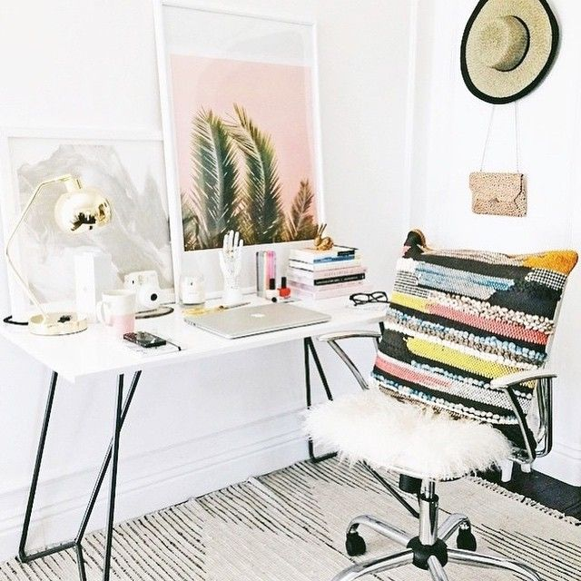 Charming Einfache Dekoration Und Mobel Das Buero Huebsch Gestalten #8: 18 Tolle Ideen, Wie Du Dein Büro Zuhause Schön Gestalten Kannst