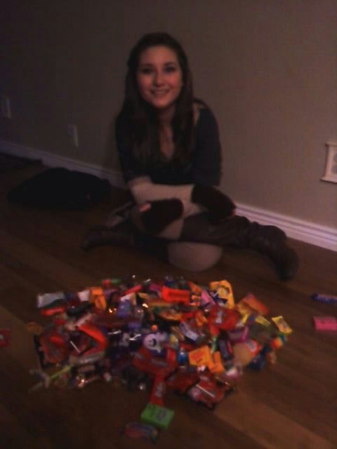 My halloween candy 2014