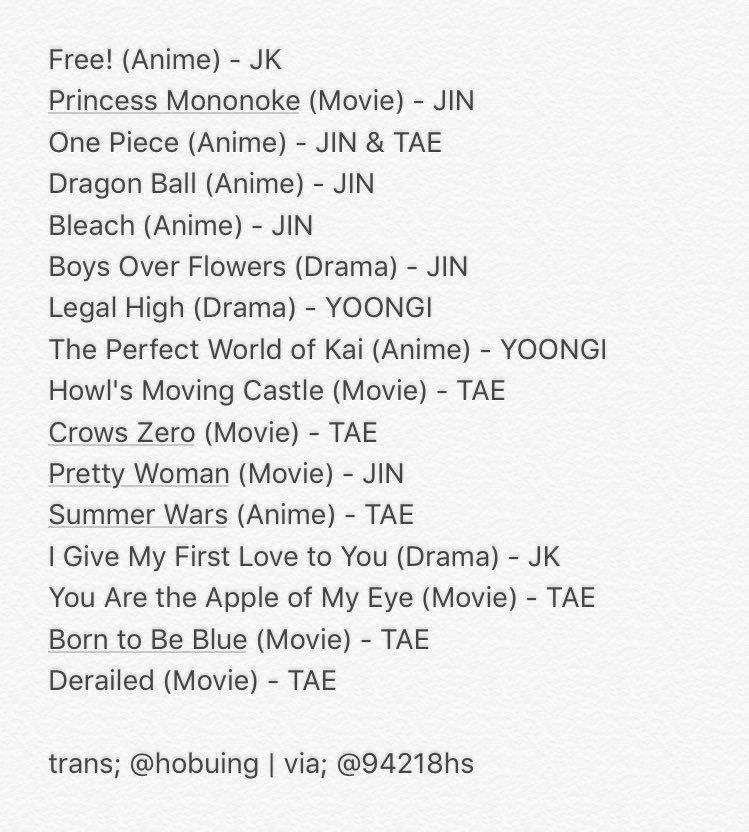 Bts Recommendations Movies Dramas Webtoons Army S Amino Pretty Woman Movie Drama Howl S Moving Castle Movie