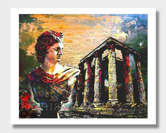 greek wall decor digital greek art wall decor greece art