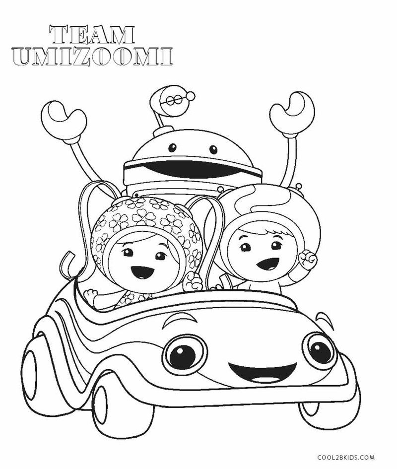 Umizoomi Colouring Pages Printable