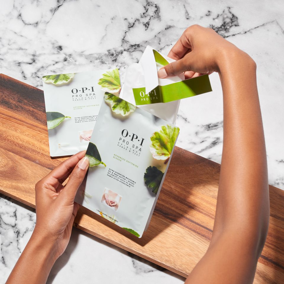 Advanced Softening Gloves From Opiprospa Is Designed To Nourish Your Hands And Skin With Just One Use See The Dif Bridesmaids Nails Skin So Soft Spa Manicure