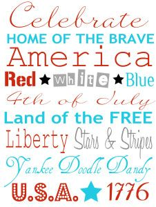 Links to free Fourth of July printables http://copierhqs.com/fourth-of-july-printables/ #printables #copies