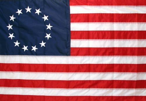 Colonial Voices 13 Colonies 13 Colonies Flag Colonial Flag