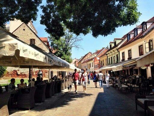 Tkalciceva Street Zagreb Zagreb Street Street View