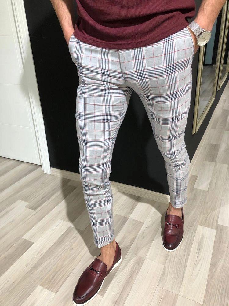 Pantalones A Rayas Una Prenda Muy Versatil Que Combina Con Todo Ropa De Hombre Casual Elegante Pantalones De Vestir Hombre Pantalones De Hombre Moda