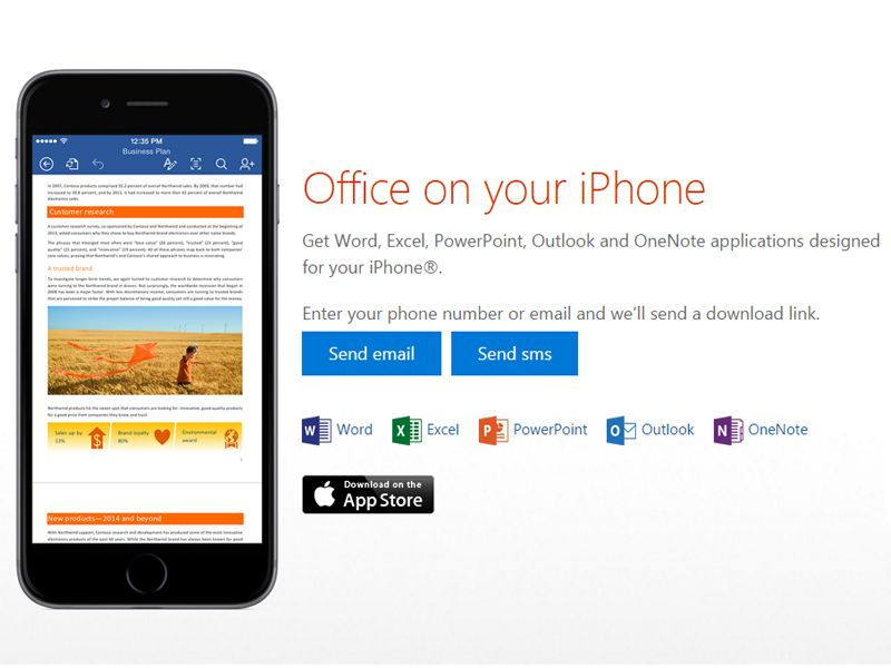 Microsoft Office App For iPhone Receives Doodle Support