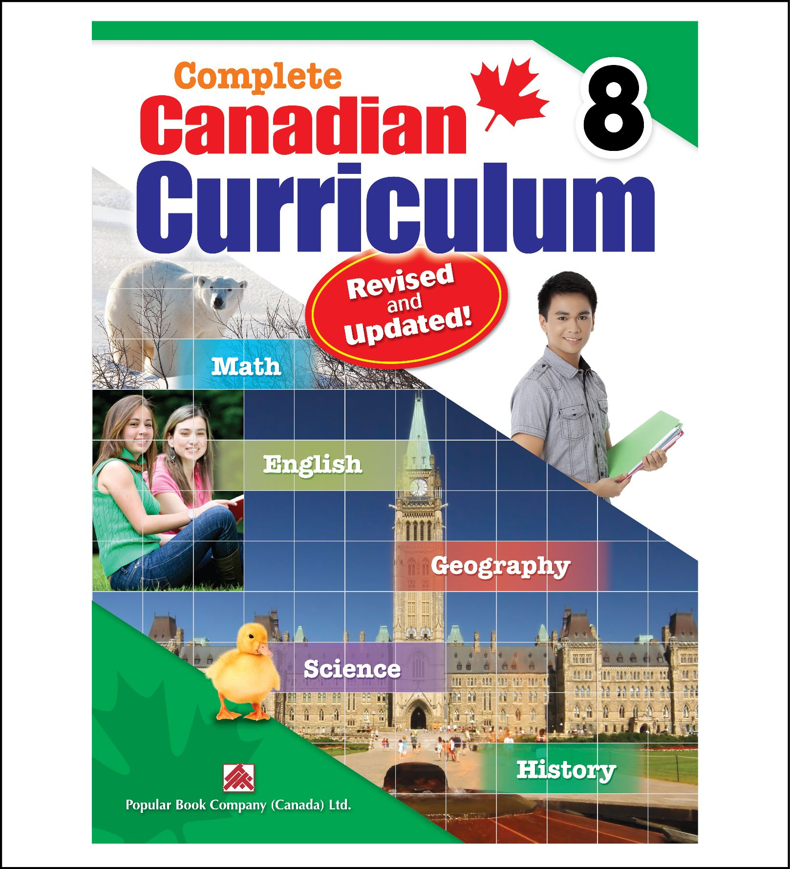 Workbook For Kids Complete Canadian Curriculum Grade 8 By